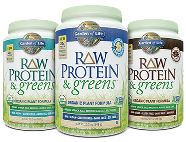 A Delicious Addition To The Garden Of Life Protein Family, Raw Protein U0026  Greens Is A Certified USDA Organic And Non GMO Project Verified Combination  Of ...