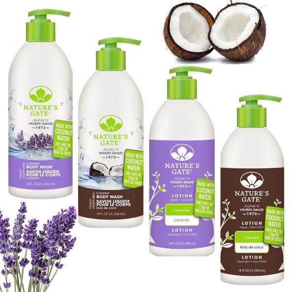 Nature S Gate Wholistic Beauty Body Lotion Coconut